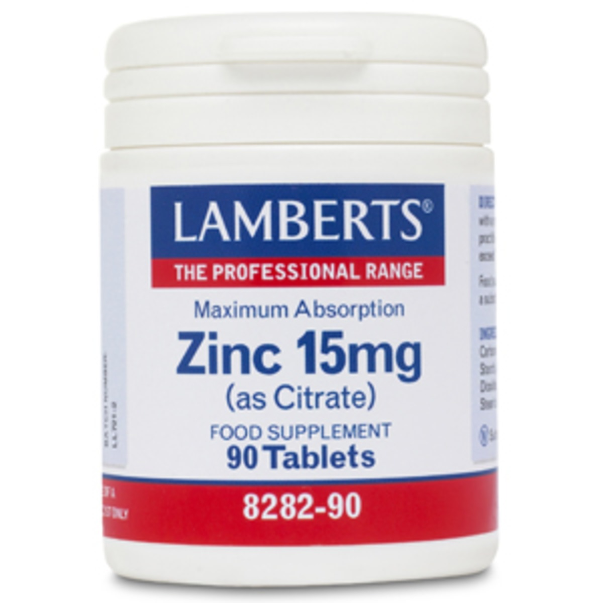Zinc as supplement