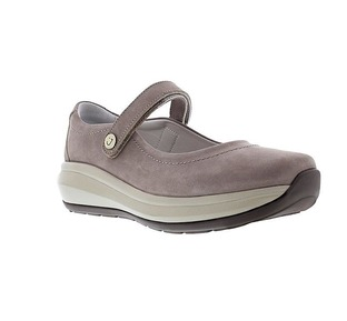 Joya Womens | Mary Jane II Shoe | Grey Suede